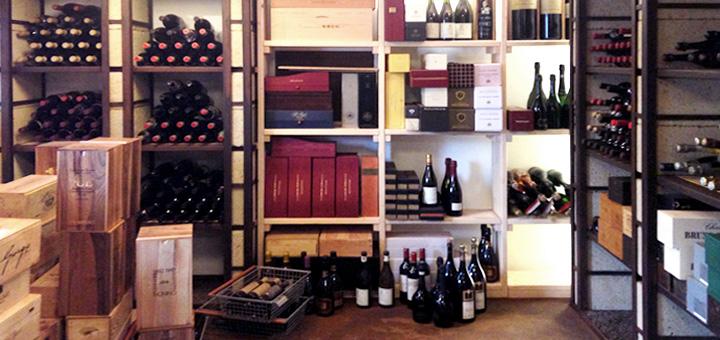 Torofosco's wine storage system