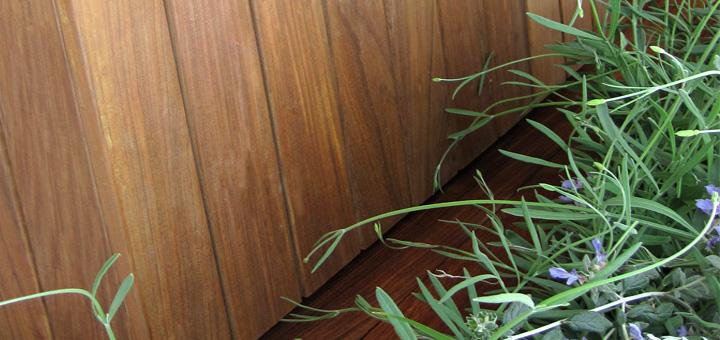 Ipe' natural ironwood